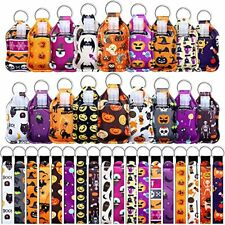 New listing 54 Pieces Empty Travel Bottles with Keychain Holder Set Include Halloween Style