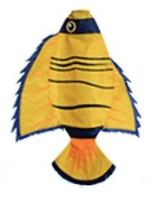 "WINDSOCK--36"" Yellow Angel Fish Windsock by Skydog Kites"