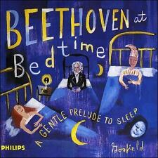 BEETHOVEN AT BEDTIME: A GENTLE PRELUDE TO SLEEP NEW CD FREE SHIPPING!!!