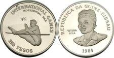elf Guinea-Bissau 250 Pesos 1984 Games Horizontal Bar