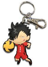 **Legit** Haikyuu Authentic Anime Keychain Nekoma High SD Tetsuro Kuroo #48246