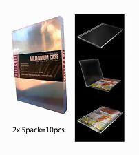 MILLCASE  NEW SEALED Comic Book Slab Case 10 Pack
