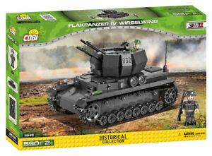 Cobi 2548 (559pcs) - German Flakpanzer IV Wirbelwind - Building Blocks - WWII