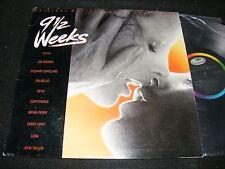 Classic EROTIC Soundtrack Movie LP 9 1/2 Weeks In Shrinkwrap 86 DEVO Bryan Ferry