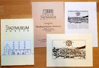 Amberg Sonderdruck + Wiedereröffnung Stadtmuseum Festschrift 1989 Oberpfalz
