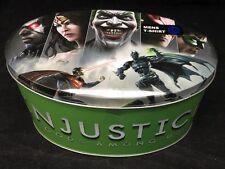 Injustice Short Sleeve T-Shirt Bioworld Adult XXL Sealed Tin New Gods Among Us