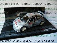 RIT73G voiture 1/43 IXO altaya  PEUGEOT 206 WRC San Remo 2000