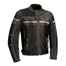 Blousons noirs Segura en cuir pour motocyclette