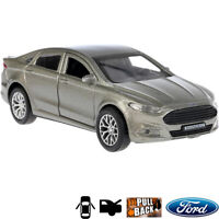 1:36 Scale Diecast Metal Model Ford Mondeo Silver Mid-Sized Large Family Car