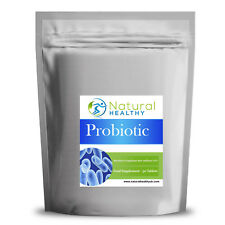 60 Probiotic Tablets - Bacillus Coagulans Bacteria - UK Supplement