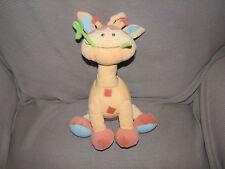 Neurosmith Stuffed Plush Giraffe Musical Crib Pull Toy Baby Lovey Lullaby