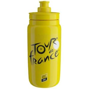 Elite Fly Tour de France 2021 Edition Water Bottle, Iconic Yellow - 550ml