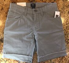 Boys Gap Kids Gray Shorts Size 5 6 7 8 12 New With Tags