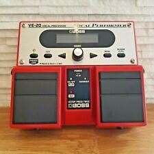 Boss VE-20 Vocal Performer/ Processor/ Harmonizer Pedal/ Stompbox (VE20)