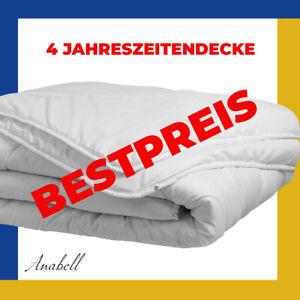 Bettdecke 4 Jahreszeiten Steppbett Decke 135x200 cm 2 DECKEN MIT NOPPEN VERBUNDE