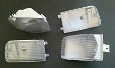 Porsche 89-94 964 965 Turbo Euro Clear Turn Signal Corner Side Marker Lens Set