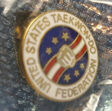 UNITED STATES TAEKWON-DO FEDERATION PIN