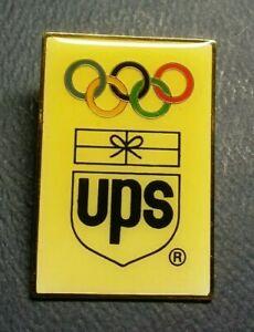 Olympic Pin: Jumbo UPS Olympic Pin Atlanta Olympic Sponsor Pin United Parcel Pin
