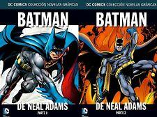 BATMAN de NEAL ADAMS - SERIE COMPLETA - 2 TOMOS !!!! NUEVOS + REGALOS !!!