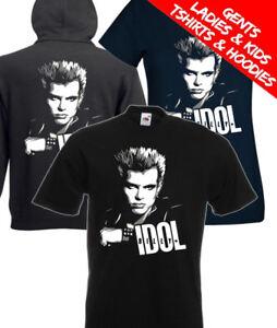 Billy Idol Rock Music T Shirt / Hoodie