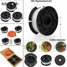 """3Pack String Trimmer Spools For BLACK+DECKER AF-100-3ZP GH900 W/ 0.065"""" Line NEW"""