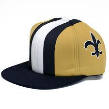 New Orleans Saints Mitchell & Ness Foam Helmet Snapback Hat