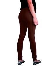 Pantalones de mujer color principal marrón 100% algodón