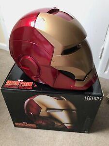 Marvel Legends Iron Man Electronic Helmet - Avengers Tony Stark Sound FX