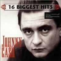 """JOHNNY CASH """"16 BIGGEST HITS"""" LP  VINYL NEW!"""