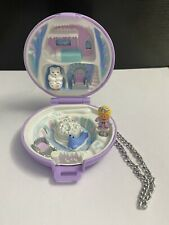 Polly Pocket jeweled iceland/princess pollys ice kingdom 1992 komplett complete