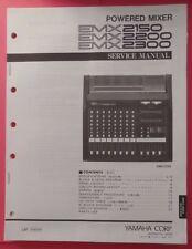 Original Yamaha EMX 2150 2200 2300 Powered Mixer SERVICE Manual