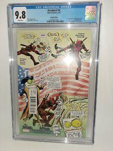 Marvel Deadpool #6 Cgc 9.8 #secretComic Variant 1st Deadpool 2099 FREE SHIPPING