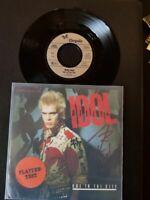 "Billy Idol – Hot In The City-Vinyl,7"",45 RPM,Single 1982-Sammlung Rock"