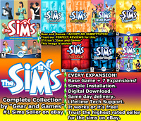 The Sims 1 Complete Collection 7 expansions, Same day Delivery. DIGITAL DOWNLOAD