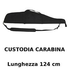 Borsa Fodero Custodia porta Fucile o carabina OLD NERO 124 cm OFFERTA LIMITATA