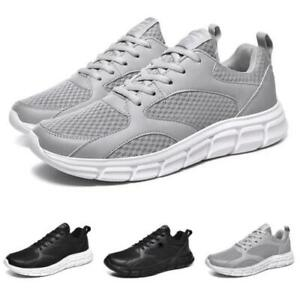 Mens Fashion Sneakers Shoes Outdoor Running Sports Gym Mesh Breathable Casual D