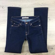 J Brand Slim Straight Leg Ink Blue Women's Jeans Size 23 Actual W25 L28.5 (SS10)
