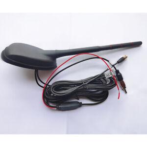 DC 12V Car Auto Stereo FM & AM Radio Signal Antenna Aerial Signal Amp Amplifier