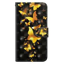 Bling Printed Wallet Magnetic Flip Case Cover For Huawei P Smart P20 Pro Honor