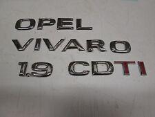 Scritta posteriore originale Opel 1.9 Cdti.  [6067.16]