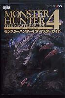 JAPAN Monster Hunter 4 The Master Guide Book