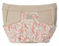 Miche Demi Shell HOPE Dragonfly Light Cream Fabric Coral Print + Cream Straps