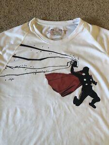 Under Armour Alter Ego Thor Rare Shirt Large L Marvel Avengers