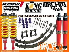 KONI HEAVY TRACK & KING SPRINGS 2INCH-50mm F&R LIFT KIT FOR TOYOTA HILUX 2005-15