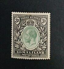 SOMALILAND 1921 3r SG 84 Sc 75 MLH tone perf small thin