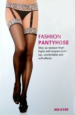 Sexy Bedroom Roleplay Beileisi Leopard Garter & Stockings 2108 One Piece S 8-10