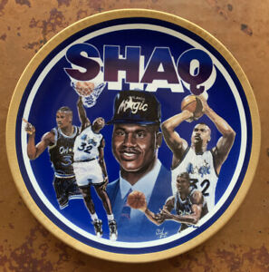 Shaquille O'Neal Shaq Magic NBA 92/93 Rookie ofthe Year Collector's Plate #1887