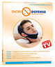 Snoredefense - Ceinture de menton anti-ronflements ultra confort chin strap