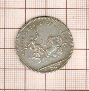 Token Silver Louis XV Late Cvncta Profvndis