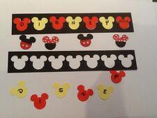 Disney . Mickey . Minnie Scrapbook Page Headers 2018